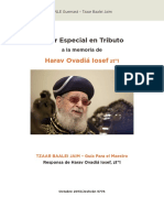 Tzaar Baalei Chaim Teacher SPANISH Dec3 2013