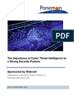 Cyber Threat Intelligence Report 2015