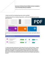 Cara Melakukan Download Activity Completion