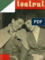 Revista Teatrul, nr. 10, anul VI, octombrie 1961