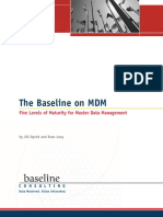 Baseline the Baseline on MDM