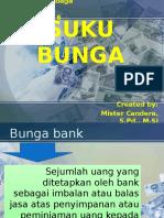 MATERI SUKU BUNGA (BANK DAN LEMBAGA KEUANGAN PERTEMUAN 6)