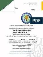 Proyecto de Electronica I Lampara de Emergencia