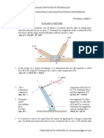Applied Mechanics Tutorial Sheet 1 (1)