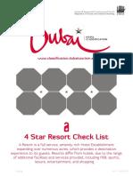 Resort 5 Star Criteria