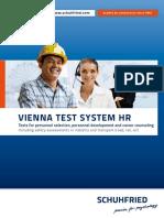 Vienna Test System Hr 2012 Schuhfried