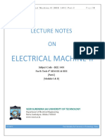 (lecture notes) Electrical Machine-II.pdf