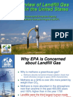 USEPA Landfill Gas Overview
