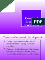 Theories of Economic Development (1)