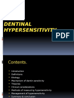 Dentin Hypersensitivity Ppt