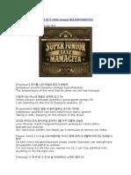 Super Junior - 환절기 (Mid-season)