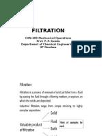 L6-Filtration Lecture 1