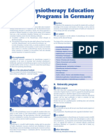PT-Education Programsin Germany