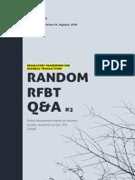 RFBT - Q&A Pt.2