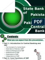 Central Banking in Pakistan State Bank of Pakistan