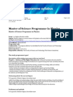 Applied Physics Masters Umea University