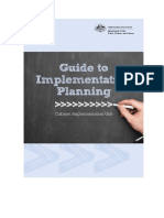 Guide to Implementation Planning