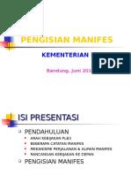 Pengisian - Manifest - Juni 13