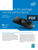 Intel® Compute Stick STCK1A32WFC, STCK1A8LFC Product Brief.pdf