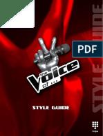 The Voice Internationaal Styleguide