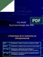 Psychologie Entrepreneuriale