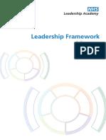 NHSLeadership Framework LeadershipFramework Summary
