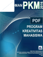Pedoman PKM 2016 Belmawa BARU