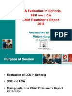 3  lca ev in schools and sec report 2014