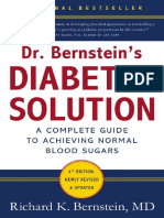 Dr. Bernstein's Diabetes Solution –