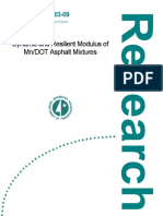 Dynamic and Resilient Modulus of