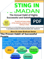 FASTING IN RAMADAN - The Annual Habit of Highly Successful and Satisfied People