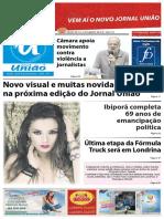 Jornal União, exemplar online da 10/11 a 16/11/2016.