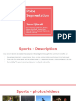 Market Segmentation project
