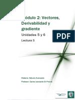Parciali-Lectura 5 - Derivabilidad y Gradiente