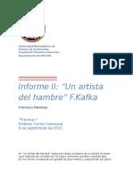 Informe Artista