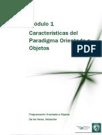 Lectura 2 - Caracteristicas Del Paradigma Orientado a Objetos