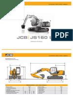 Escavadeira JCB JS160LC-1
