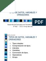 203 Variables TiposDatos-para Operadores