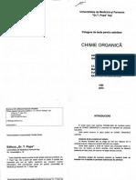 Teste - Chimie Organica Admitere Iasi 2016