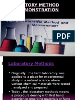 Laboratory Method and Demonstration
