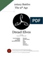 The Ninth Age Dread Elves 1 2 1