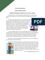 Analizar la estructura de un texto informativo.doc