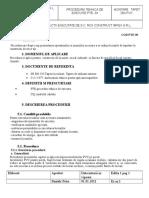 Proc. Tehn. de Exec. Tapete PVC
