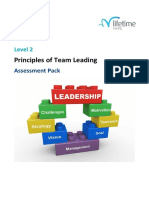 M L 6 Principles of Team Leading Assessment Pack v2