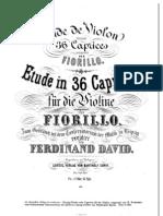 Fiorillo - 36 Caprices for Violin