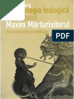 Lars Thunberg - Antropologia Teologica a Sf. Maxim Marturisitorul - Microcosmos Si Mediator