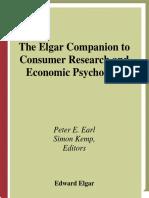 Elgar Consumers Psychology