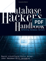 The Database Hackers Handbook_ - By David Litchfield Et Al