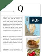 Diccionario Gastronómico  Letras q,r,s