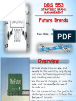 DBS 553 the Future of Branding